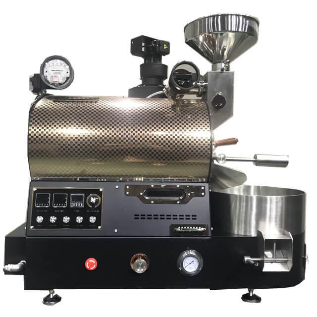 Ulepszona wersja prażalnika gazowego 2Kg Maszyny do palenia ziaren kawy do kawiarni
