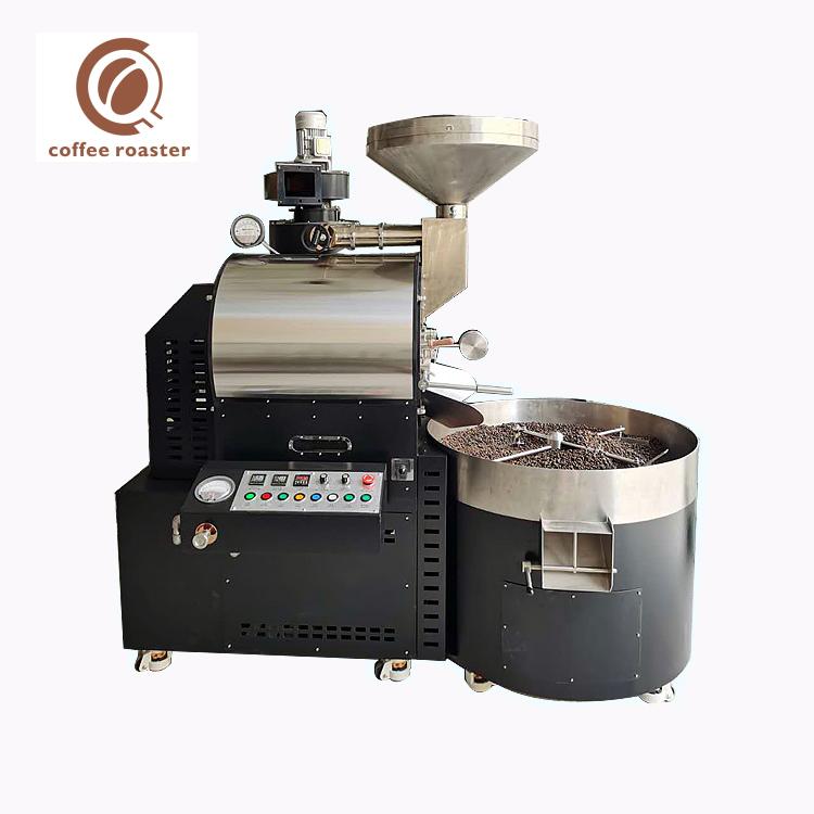 Maszyna do palenia kawy 15Kg Partia Gazu Piec do kawy